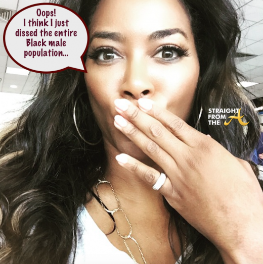 Quick Quotes: Kenya Moore Claims Single Because Black Men Are Gay, In Jail 1