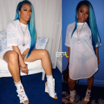 New 'Doo Alert! Keyshia Cole is Feeling 'BLUE' With Hot New Look… [PHOTOS]
