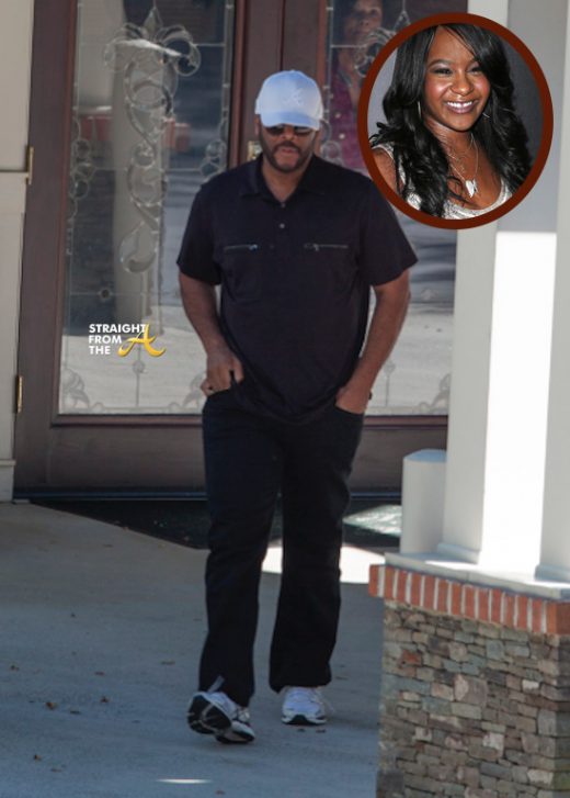 Bobbi Kristina Update: Tyler Perry Visits Hospice + Nick Gordon Spotted Relaxing in Florida… [PHOTOS]