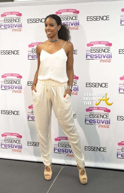 Kelly Rowland - 2015 Essence Music Festival 2