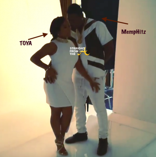 Together Again!? MempHitz & Toya Wright Do Photo Shoot (Was Marriage Drama A Stunt?)… [PHOTOS + VIDEO]