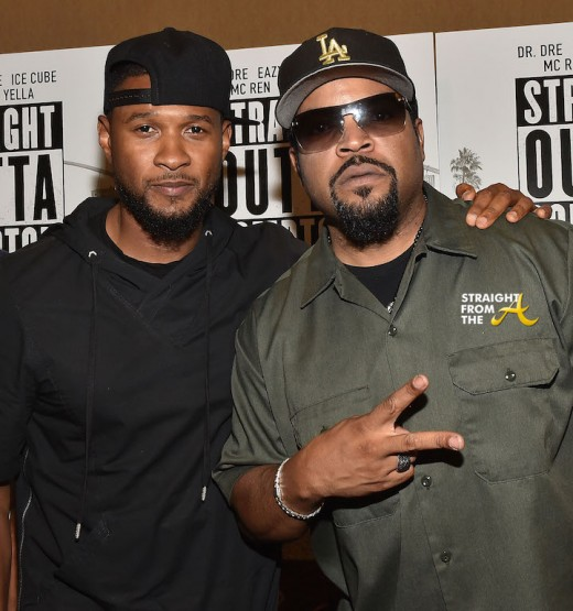 'Straight Outta Compton' Atlanta VIP Screening: Ice Cube, Usher, 2Chainz & More… [PHOTOS + VIDEO]