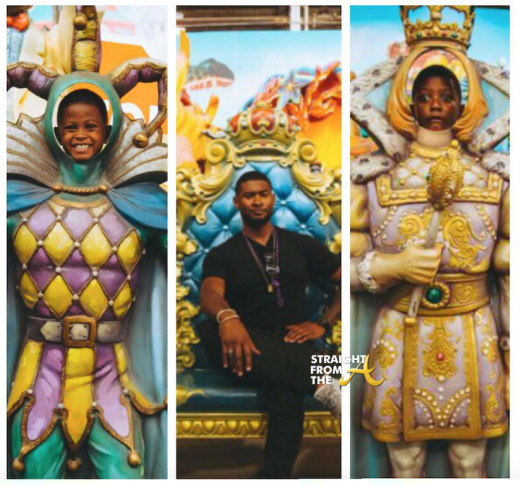 Usher & Sons Tour New Orleans After Essence Music Fest Performance… [PHOTOS]