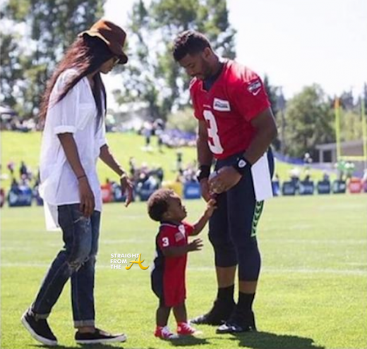 Ciara Trends Nationwide After Taking Future's Son to Russell Wilson's Practice + T.I. Chimes In… [PHOTOS]