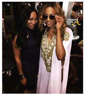 Cynthia Bailey and eyewear partner