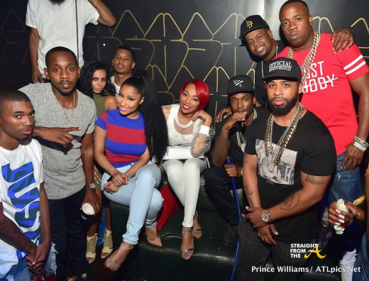 Meek Mill, Nicki Minaj, Monica, Toya Wright & More Attend 'Pink Print Tour' After Party in Atlanta… [PHOTOS]