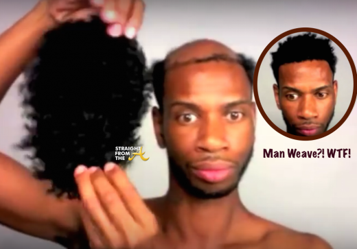 FOR DISCUSSION: Is 'Man Weave' The New Thing Now??? [PHOTOS + VIDEO]