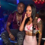 Boo'd Up: Boxer Andre Berto & #LHHATL Bambi Spotted at SOHO Lounge… [PHOTOS]