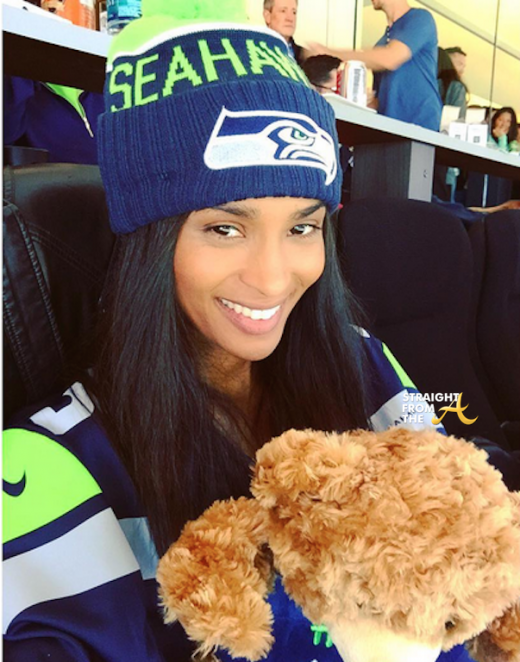 Instagram Flexin: Ciara Supports Russell Wilson in Seattle + Seahawks Fans Start #GOFundMe Break Up Campaign… [PHOTOS/VIDEO]