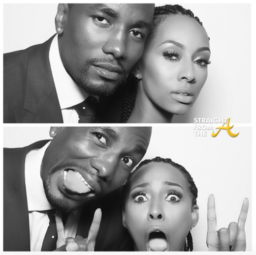 Quick Pics: Keri Hilson & Serge Ibaka Attend Russell Westbrook's Wedding…