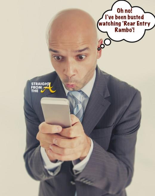 Man on Phone SFTA