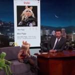 Miss Piggy & Kermit Talk 'Break-Ups' & Tinder Dating on The Jimmy Kimmel Show (VIDEO)
