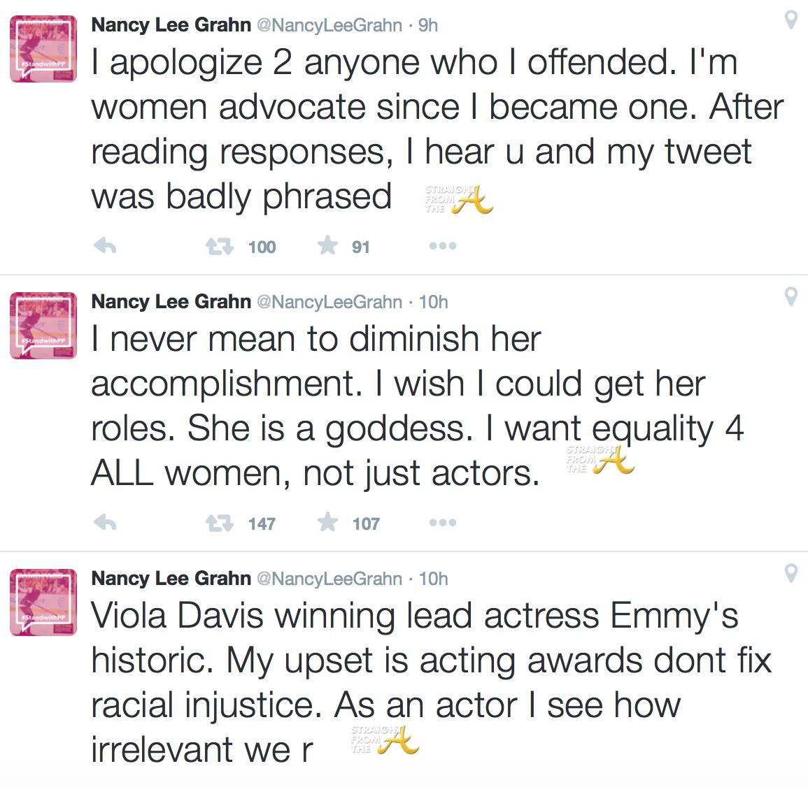Nancy Lee Grahn tweets