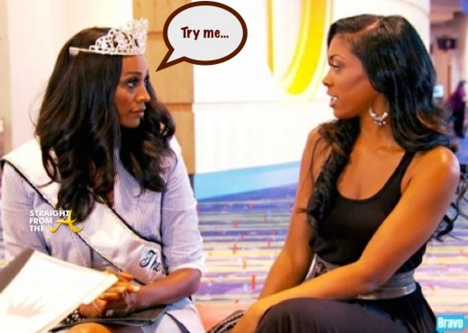 WTF?!? Cynthia Bailey Reportedly 'Drop Kicks' Porsha Williams During #RHOA Boat Trip… [EXCLUSIVE DETAILS]