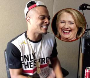 T.I. Hillary Clinton
