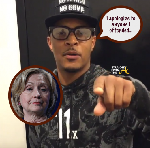 UPDATE: T.I. Apologizes for Comments About Possibility of Female President…