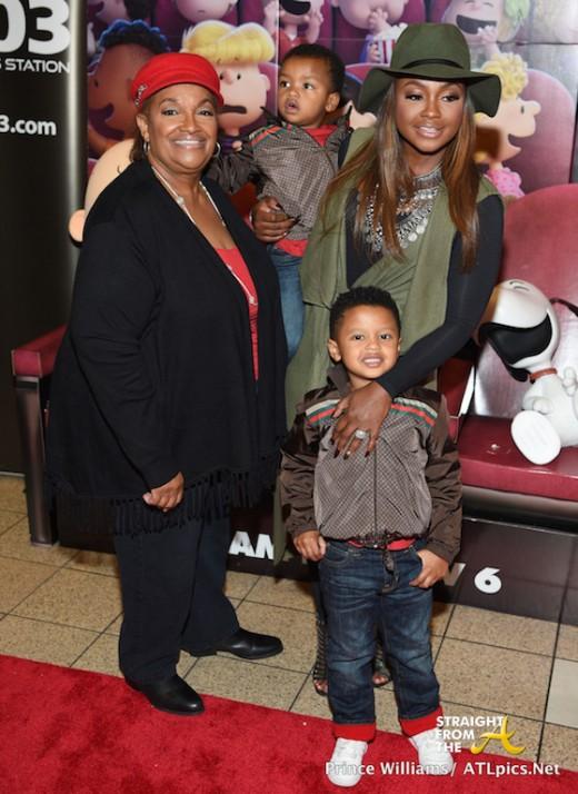 Phaedra Parks Family