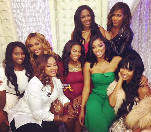 Kandi Burruss On-Air Baby Shower RHOA - SFTA