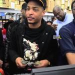Rapper T.I. Walmart Surprise 4