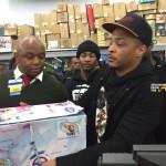 Rapper T.I. Walmart Surprise 7