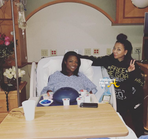 Kandi Burruss and Tiny Harris - Hospital