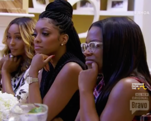 Kandi Porsha Cynthia Beatless Brunch RHOA