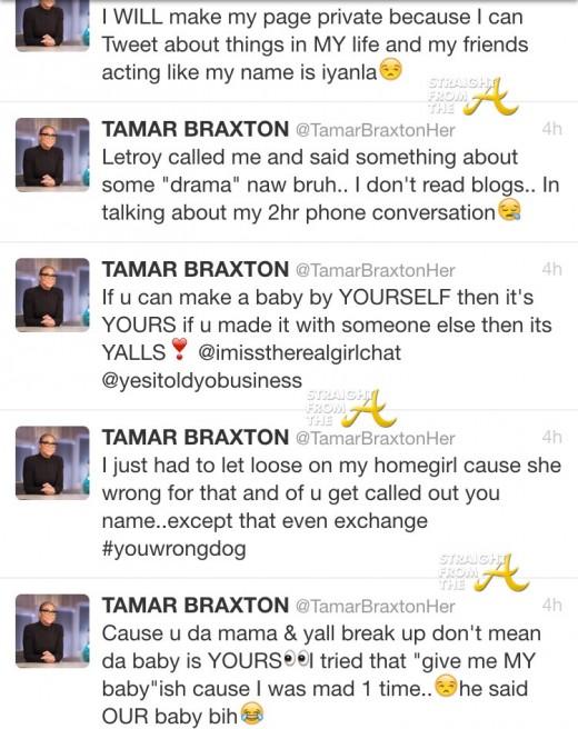 Tamar Braxton Tweets