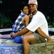 David Justice Halle Berry