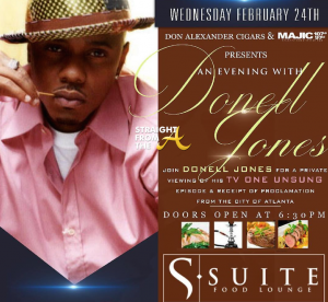 Donnell Jones Viewing Party 2
