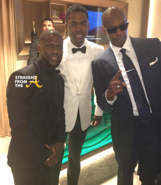 Kevin Hart Chris Rock Dave Chappell