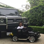 Ciara's Son's Car is Better Than Yours! Watch Baby Future Drive His G-Wagon… [VIDEO]
