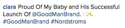 Ciara Good Man Brand
