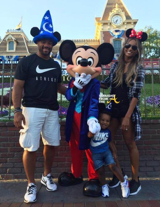 Ciara Russell Wilson Future Disneyland 1