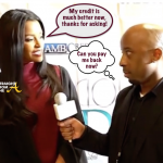 Fan Mail: Ex #RHOA Claudia Jordan Endorses Credit Repair Scheme… (VIDEO)