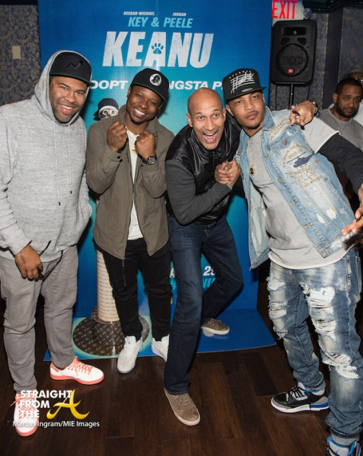 Jordan Peele - Jason Mitchell - Keegan-Michael Key - TI at After-Party (1)