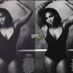 Photoshop Fail! Serena Williams Posts 'Snatched' Waist on Instagram… [PHOTOS]