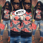 FASHION FAIL! Marlo Hampton Apologizes for Confederate Flag Shirt… (PHOTOS + VIDEO)